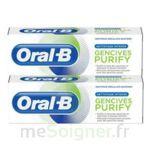Acheter Oral B Gencives Purify Dentifrice 2*T/75ml à AIX-EN-PROVENCE